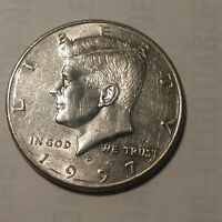 1997 D KENNEDY HALF DOLLAR. CIRCULATED .