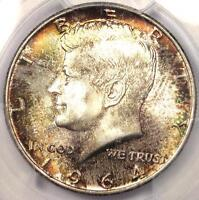1964 KENNEDY HALF DOLLAR 50C COIN   PCGS MS67 PQ    IN MS67 GRADE   WOW