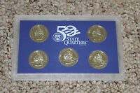 2000 UNITED STATES MINT 50 STATE QUARTERS PROOF SET