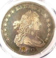 1800 DRAPED BUST SILVER DOLLAR $1   PCGS XF DETAILS    COIN   NICE LOOK