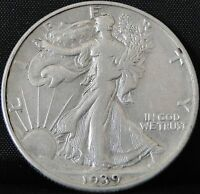 CIRCULATED 1939 D WALKING LIBERTY HALF DOLLAR