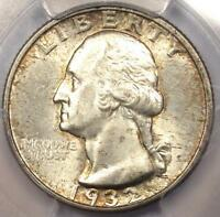 1932 S WASHINGTON QUARTER 25C   PCGS MS62    KEY DATE CERTIFIED UNC COIN