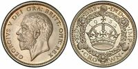 GREAT BRITAIN. GEORGE V. 1932 AR CROWN. PCGS PR65 KM 836; SCBC 4036  PROOF