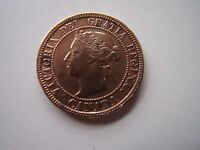 CANADA 1900 LARGE ONE CENT COIN  EXCEPT BLACK MARKS