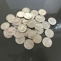1776 1976 U.S. BICENTENNIAL QUARTERS CIRCULATED 40 COINS/$10 FACE VALUE