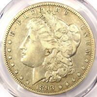 1893-O MORGAN SILVER DOLLAR $1 - PCGS VF25 PQ -  KEY DATE - CERTIFIED COIN