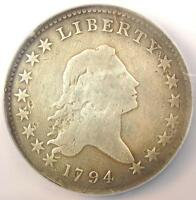 1794 FLOWING HAIR BUST HALF DOLLAR 50C O 104   NGC VG DETAILS    DATE COIN
