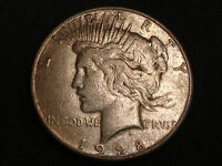 1928-S PEACE SILVER DOLLAR VF DETAILS - CLEANED