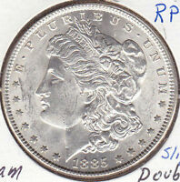 1885 MORGAN DOLLAR-BU VAM 6/BREEN 5582-UNCERTIFIED
