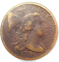 1794 LIBERTY CAP LARGE CENT 1C S 63   ANACS VF20 DETAIL    CERTIFIED PENNY