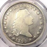 1795 FLOWING HAIR SILVER DOLLAR $1 COIN BB-14 - PCGS FINE DETAILS -  COIN
