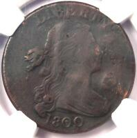1800 DRAPED BUST LARGE CENT 1C S 197   NGC VF DETAILS    EARLY DATE PENNY