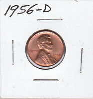 1956-D LINCOLN CENT