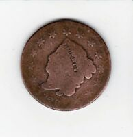DATE  1826 LARGE USA PENNY-- SHIPS FREE