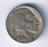 1928 D BUFFALO NICKEL INDIAN HEAD 5 CENTS COIN FINE VF NICE