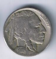1918 P BUFFALO NICKEL INDIAN HEAD 5 CENTS COIN FINE F NICE