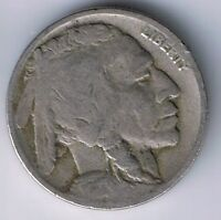 1917 D BUFFALO NICKEL INDIAN HEAD 5 CENTS COIN NICE