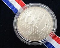 2010 AMERICAN VETERANS DISABLED FOR LIFE SILVER DOLLAR UNCIRCULATED W/ COA