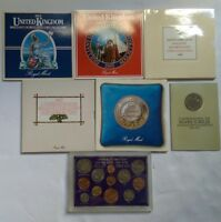 DEALER'S LOT OF UK GB COINS. UNCIRCULATED COIN COLLECTIONS&