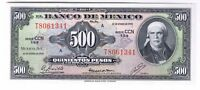 1978 MEXICAN 500 PESO NOTE FIVE HUNDRED PESOS MEXICO P 51T CRISP UNCIRCULATED