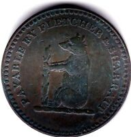 WALSALL  ONE PENNY TOKEN  1811