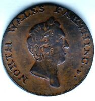 NORTH WALES  FARTHING 1793