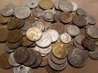 1 POUND OF FOREIGN / WORLD COINS FROM GREECE ONE LB GREEK LOT DRACHMA LEPTA ECT