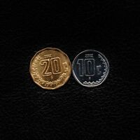 2  10 & 20 CENTAVOS 2002   MEXICO  SHIP 50CTS PER ITEM ADDED