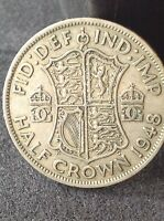 1948 GEORGE 6TH HALF CROWN 2/6 EXCELLENT CONDITION FREE UK  P&P.