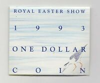 1993 $1 UNC 'S' MINT MARK COIN. ROYAL EASTER SHOW SYDNEY. FIRST 'S' MINT MARK.
