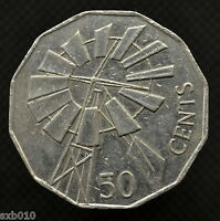 AUSTRALIA 50 CENTS 2002 YEAR OF THE OUTBACK. KM602. COMMEMORATIVE  EF