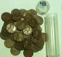 OVER PACKED ROLL OF 1948 P LINCOLN CENTS 51