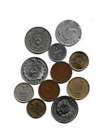 MIXED LOT OF 11 ARABIC COINS VARIOUS COUNTRIES