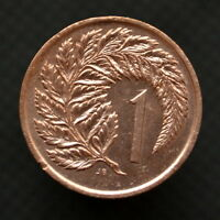 COIN NEW ZEALAND 1 CENT 1967 84. KM31.1. VF
