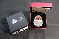 2018 ROYAL CANADIAN MINT $20 FINE SILVER COIN: SPRING PYSANKA