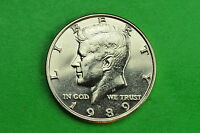 1989 P   BU  MINT STATE KENNEDY US HALF DOLLAR COIN