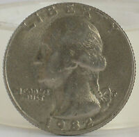 1982 LIBERTY QUARTER DOLLAR COIN