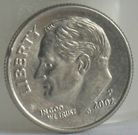 2002 LIBERTY ONE DIME COIN