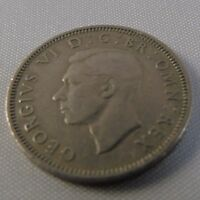 ONE SHILLING KING GEORGE VI 1949 COLLECTABLE COIN BRITAIN BIRTHDAY GOOD GRADE