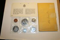 1966 CANADA RCM MINT SET SILVER ::PL SET PLUS ORIGINAL INSERT AND ENVELOPE