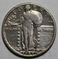 1927 STANDING LIBERTY QUARTER NB34