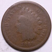 1868 INDIAN HEAD CENT PENNY       K6WCF