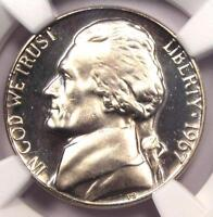 1967 SMS JEFFERSON NICKEL 5C - NGC MINT STATE 67 UCAM ULTRA DEEP CAMEO - $1,500 VALUE