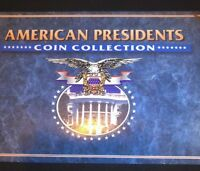 AMERICAN PRESIDENTS 1995 4 COIN COLLECTION UNCIRCULATED IN PROTECTIVE CASE