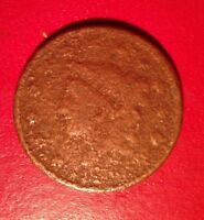 1836 LARGE CENT TRANSITIONAL HEAD