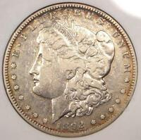 1892 S MORGAN SILVER DOLLAR $1   CERTIFIED ANACS VF35    DATE   $264 VALUE