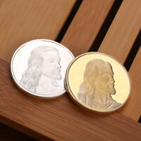 1PCS GOLD SILVER JESUS LAST DINNER COMMEMORATIVE CHALLENGE COIN GIFT COLLECTION