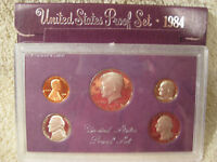 1984 S U.S MINT PROOF SET IN ORIGINAL MINT PACKAGING.