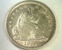 1839-O SEATED LIBERTY HALF DIME REPUNCHED 1 & 9 CHOICE ABOUT UNCIRCULATED CH. AU