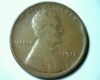 1913 LINCOLN CENT PENNY EXTRA FINE  EXTRA FINE EF  FINE  COIN BOBS COINS